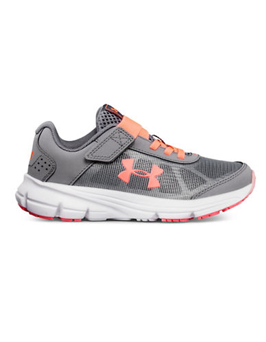 Under Armour Rave Athletic Sneakers-GREY-11