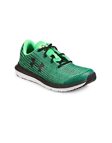 Under Armour X Level SplitSpeed Sneakers-ARENA GREEN-4