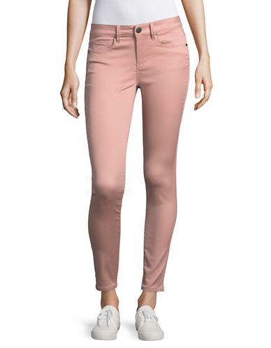 Design Lab Lord & Taylor Solid Skinny Jeans-SEVILLE ROSE-30