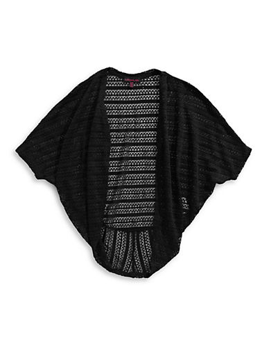 Material Girl Open Front Cocoon Cardigan-BLACK-X-Small 89838958_BLACK_X-Small