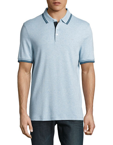 Michael Kors Logo Polo Shirt-GREY-X-Large