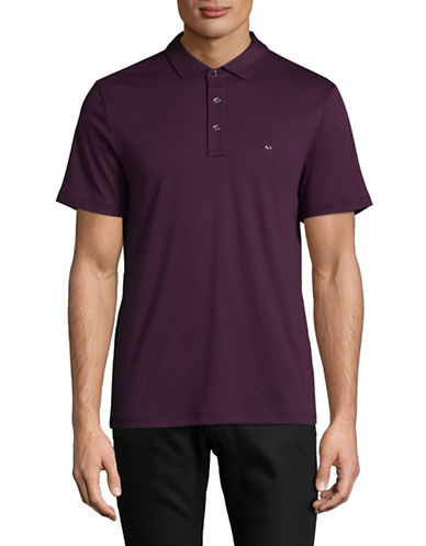 Michael Kors Crew Neck T-Shirt-PURPLE-Medium