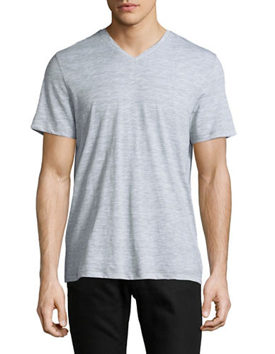 Michael Kors Space Jersey T-Shirt-GREY-Large