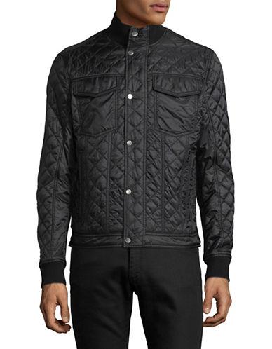 Michael Kors Quilted Hybrid Jacket-BLACK-Medium 89400549_BLACK_Medium