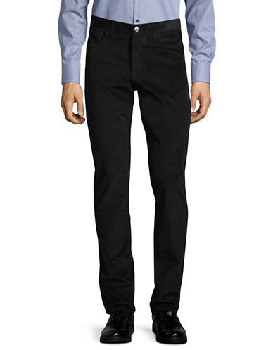 Michael Kors Parker Cord Pants-BLACK-33X34