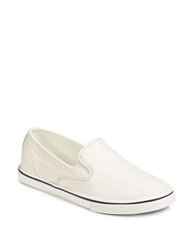 Lauren Ralph Lauren Slip-On Platform Sneakers-WHITE-6.5