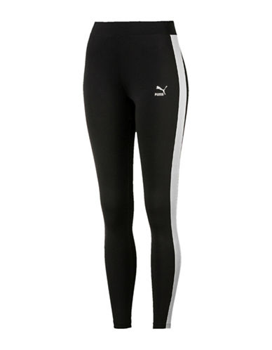 Puma Classics Logo Leggings-BLACK-Medium 89870535_BLACK_Medium