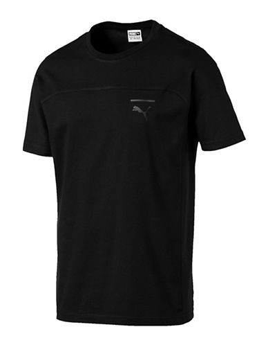 Puma Pace Primary T-Shirt-BLACK-Small 89980125_BLACK_Small