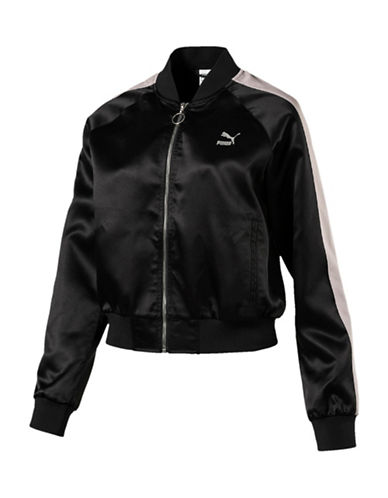 Puma En Pointe Satin Jacket-BLACK-Small 89870524_BLACK_Small
