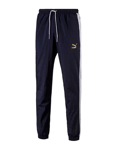 Puma Classic Tracker Pants-BLUE-Medium 90037278_BLUE_Medium