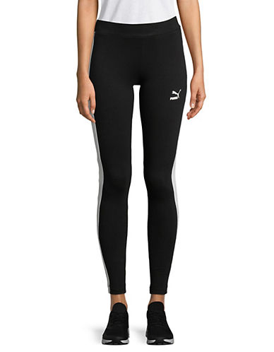 Puma Classics Logo T7 Leggings-BLACK-Medium 89874278_BLACK_Medium