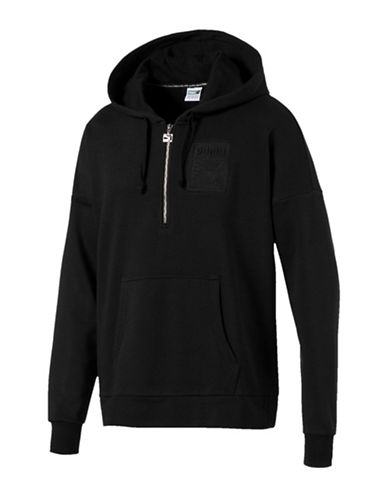 Puma Archive Embossed Hoodie-BLACK-Medium 90037303_BLACK_Medium