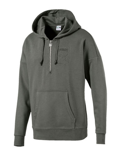 Puma Archive Embossed Hoodie-GREY-X-Large 90037310_GREY_X-Large