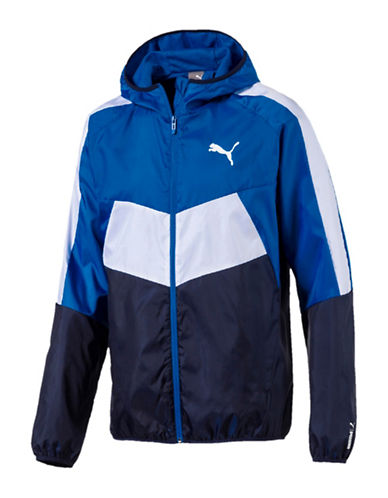 Puma ESS Colourblock Windbreaker Jacket-BLUE-Large 89980168_BLUE_Large