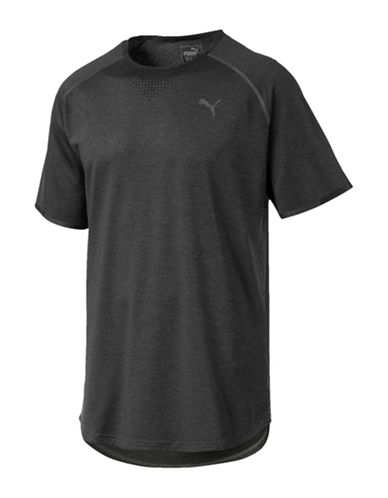 Puma Energy Laser T-Shirt-DARK GREY-Large 89980083_DARK GREY_Large