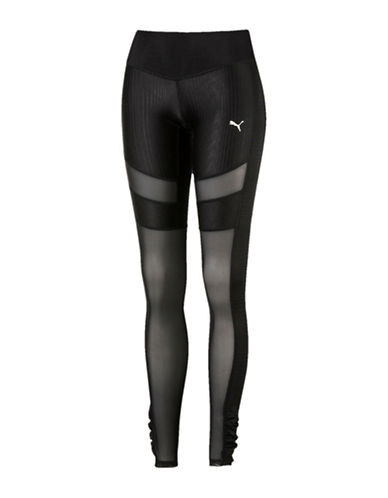 Puma En Pointe Training Tights-BLACK-Large