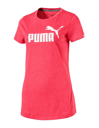 Puma ESS No.1 Heather Tee-PINK-X-Small 89891605_PINK_X-Small