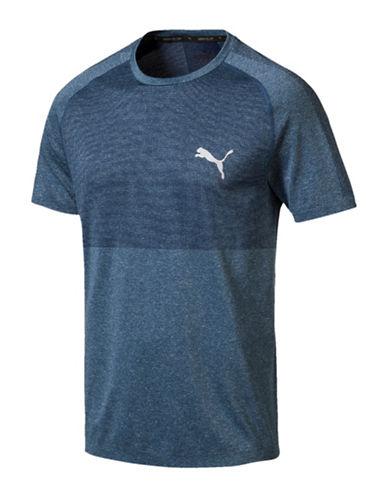 Puma Classic EvoKnit T-Shirt-BLUE-Large 89980218_BLUE_Large