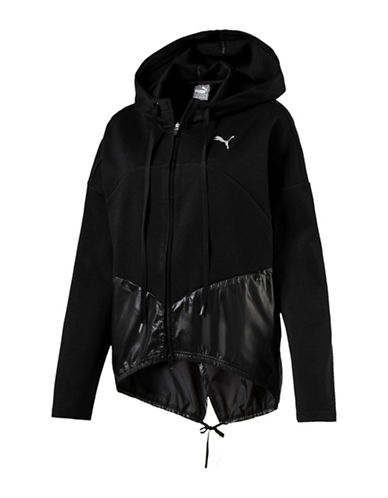 Puma Transition FZ Hoodie-BLACK-Medium 89874298_BLACK_Medium