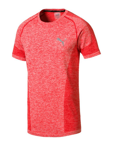 Puma Classic EvoKnit T-Shirt-RED-Medium 89980206_RED_Medium