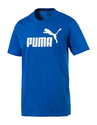 Puma Essential No.1 Graphic T-Shirt-BLUE-X-Large 89983896_BLUE_X-Large
