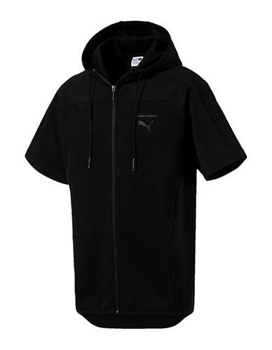Puma Pace Trend Short-Sleeve Hoodie 90092070