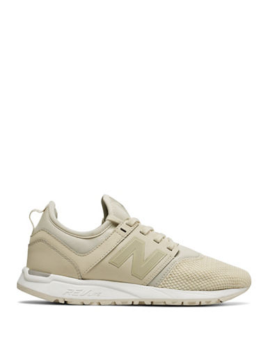 New Balance Womens 247 Sports Sneakers-BONE-5.5
