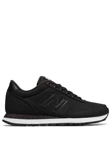 New Balance Splatter Sole Sneakers-BLACK-5.5