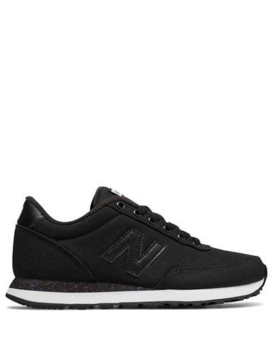 New Balance Splatter Sole Sneakers-BLACK-6