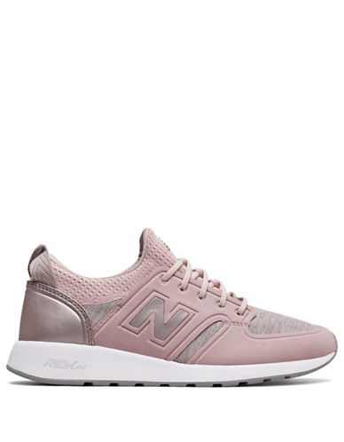 New Balance 420 Slip-On Sneakers-PINK-9.5