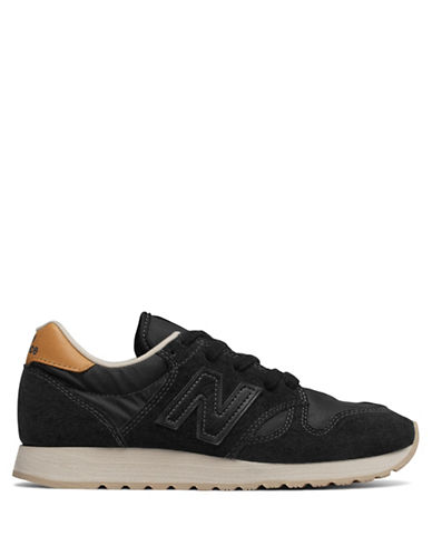 New Balance Retro Sneakers-BLACK-6