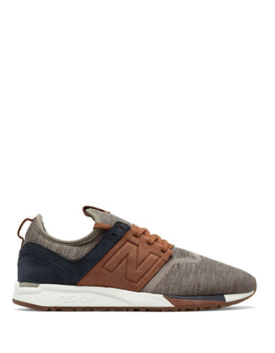 New Balance Luxe Sneakers-BROWN-10.5W