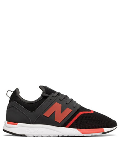 New Balance Mens Sport 247 Sneakers-BLACK-12W
