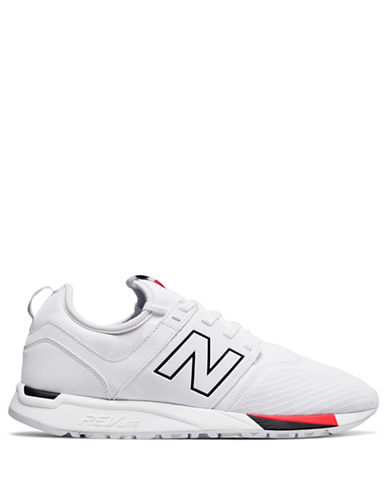 New Balance Mens Classic Revlite Sneakers-WHITE-12W