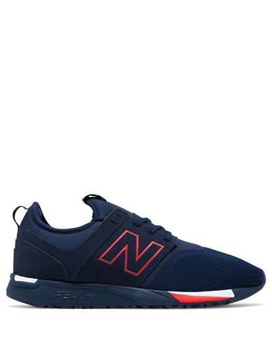 New Balance Mens Classic Revlite Sneakers-NAVY-13W