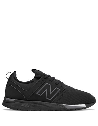 New Balance Mens Classic Revlite Sneakers-BLACK-10W