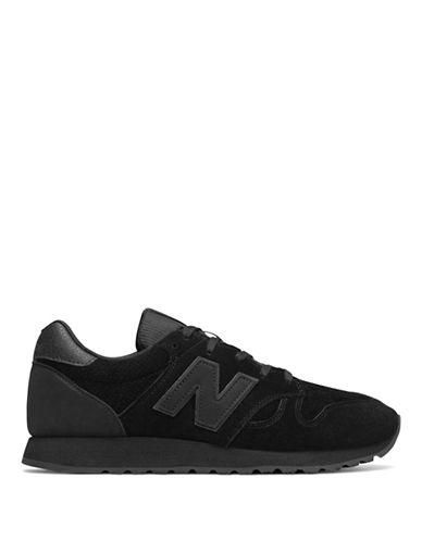 New Balance 520 Classic Tonal Sneakers-BLACK-8.5
