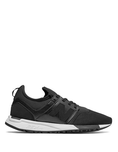 New Balance Womens 247 Trek Sneakers-BLACK-5