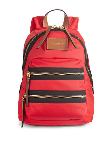 Marc Jacobs Biker Mini Backpack-RED-One Size