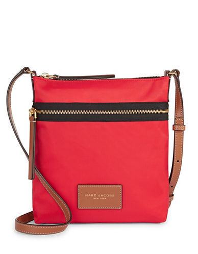 Marc Jacobs Biker Crossbody Bag-RED-One Size