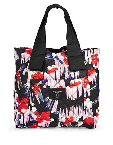 Marc Jacobs Geo Spot Knot Tote-BLACK MULTI-One Size