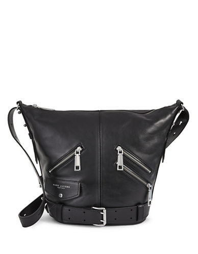 Marc Jacobs The Sling Motorcycle Bag-BLACK-One Size