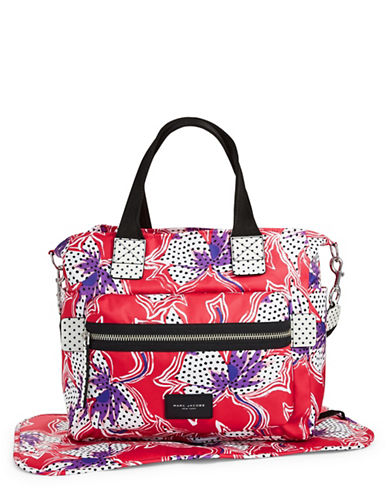 Marc Jacobs Spotted Lily Biker Babybag-RED-One Size