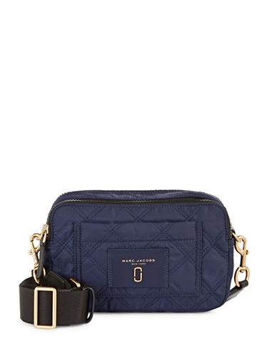 Marc Jacobs Quilted Crossbody Bag-BLUE-One Size