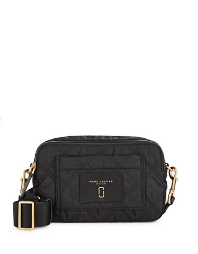 Marc Jacobs Quilted Crossbody Bag-BLACK-One Size