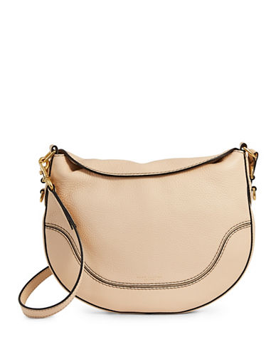 Marc Jacobs The Small Drifter Leather Bag-BEIGE-One Size