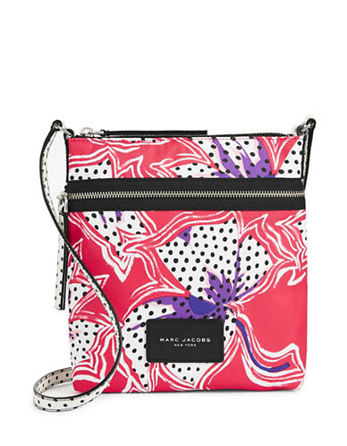 Marc Jacobs Spotted Lily Crossbody Biker Bag-RED-One Size