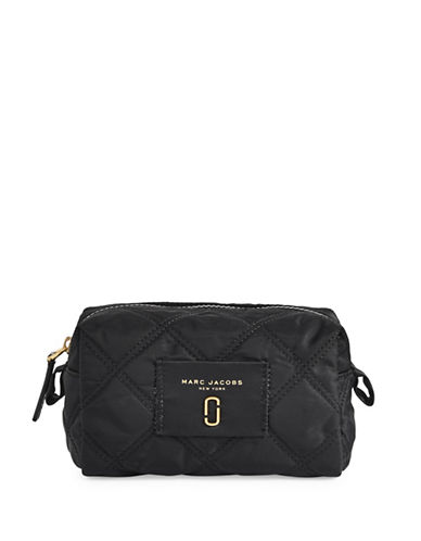 Marc Jacobs Nylon Knot Large Cosmetic Case-BLACK-One Size