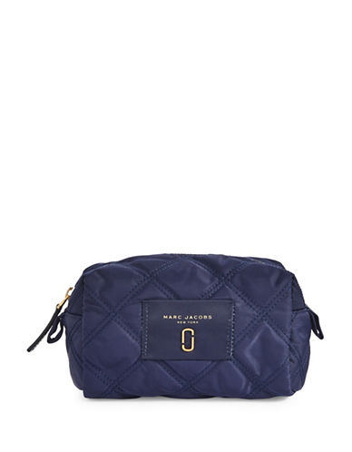 Marc Jacobs Nylon Knot Large Cosmetic Case-MIDNIGHT BLUE-One Size
