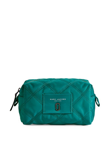 Marc Jacobs Nylon Knot Large Cosmetic Case-PEACOCK BLUE-One Size